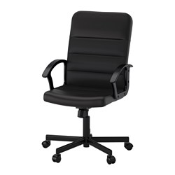 RENBERGET - Swivel chair, Bomstad black