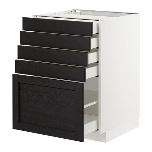 METOD kabinet dasar dengan 5 laci