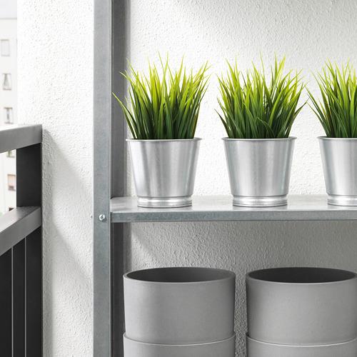BINTJE - pot tanaman, galvanis, 9 cm | IKEA Indonesia - PE724767_S4