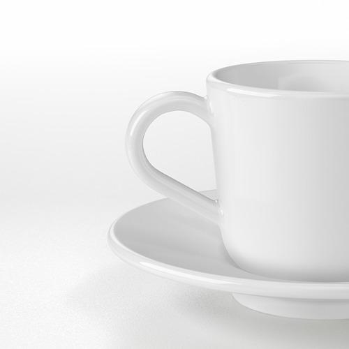 IKEA 365+ cangkir dan tatakan espresso