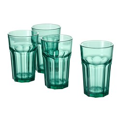 POKAL - Glass, green