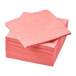 FANTASTISK - Serbet kertas, merah muda terang