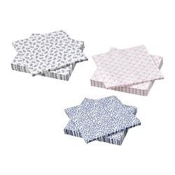 VÄLSKÖTT - Paper napkin, assorted colours