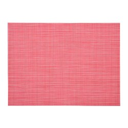 SNOBBIG - Place mat, light red