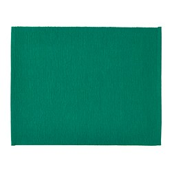 UTBYTT - Place mat, dark green