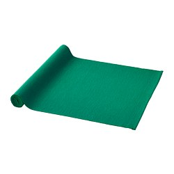 UTBYTT - Table-runner, dark green