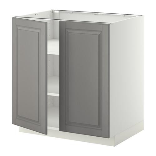 METOD kabinet dasar dg rak/2 pintu