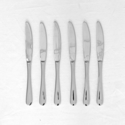 MARTORP - 6-piece knife set, stainless steel