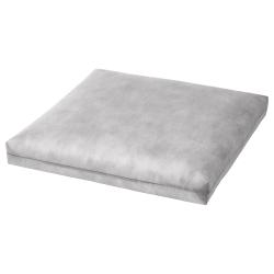 DUVHOLMEN - Inner cushion for chair cushion, outdoor grey