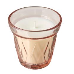 VÄLDOFT - Lilin beraroma dalam gelas, lingonberry/merah muda