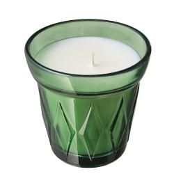 VÄLDOFT - Lilin beraroma dalam gelas, Thyme/hijau tua