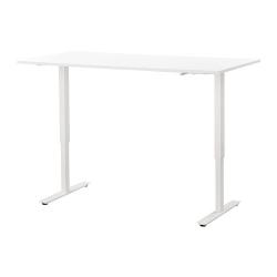SKARSTA - Desk sit/stand, white
