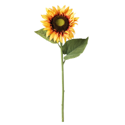 SMYCKA - Artificial flower, sunflower yellow