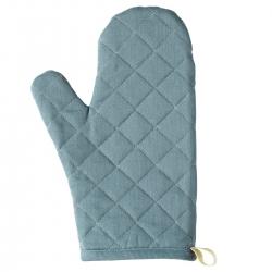 SANDVIVA - Sarung tangan oven, tekstil/biru