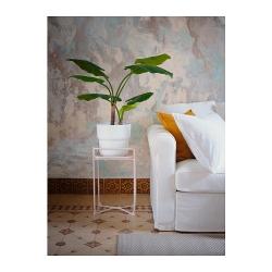 FÖRENLIG - Plant pot, in/outdoor white