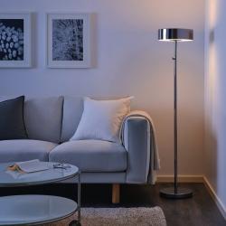 STOCKHOLM 2017 - Lampu lantai, dilapisi krom