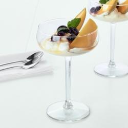STORHET - Cangkir champagne, kaca bening
