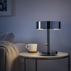 STOCKHOLM 2017 - Lampu meja, dilapisi krom