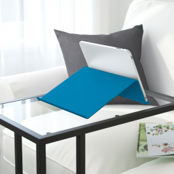 ISBERGET - Tablet stand, blue