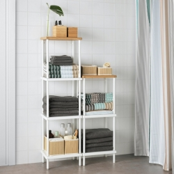 DYNAN - Add-on shelf, white
