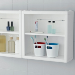 DYNAN - Wall shelf, white