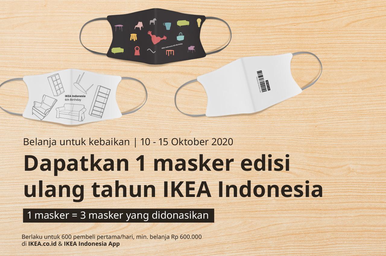 Rayakan Hari Jadi Keenam, IKEA Indonesia Ajak Masyarakat untuk Maknai Setiap Momen bersama Keluarga