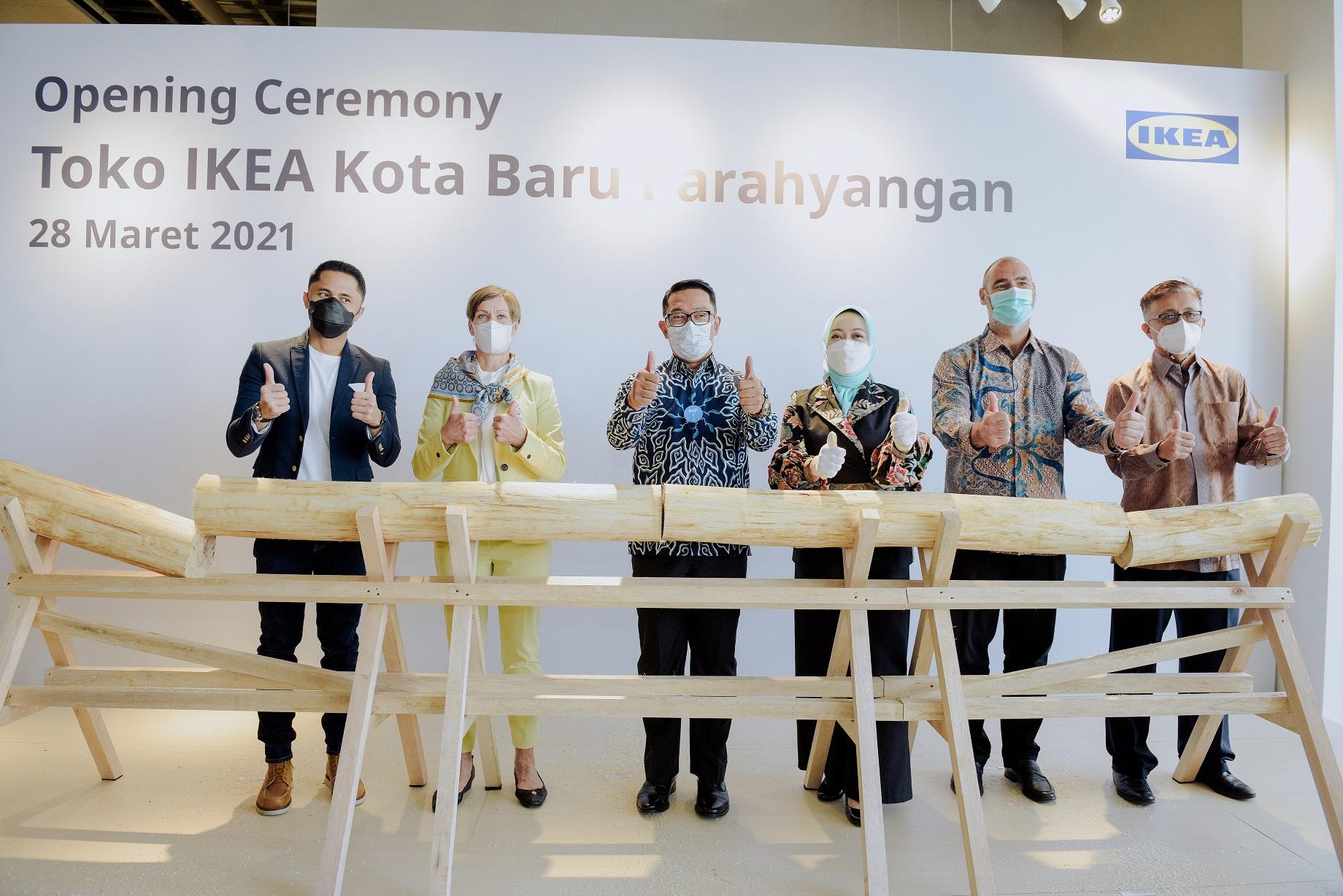 Jadikan Bandung Rumah Baru, IKEA Kota Baru Parahyangan Berikan Kontribusi Positif untuk Komunitas Lokal