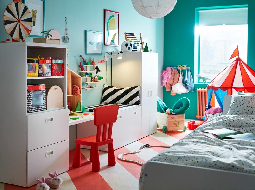 desain kamar anak modern karnaval