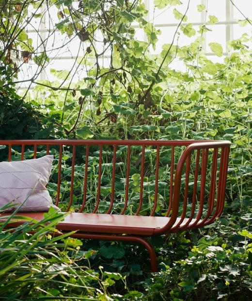 The IKEA BRUSEN outdoor sofa for garden use