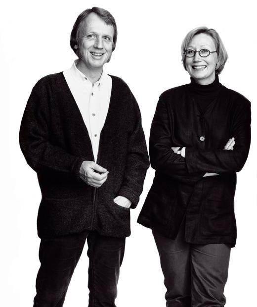 IKEA product designers Marianne Hagberg and Knut Hagberg