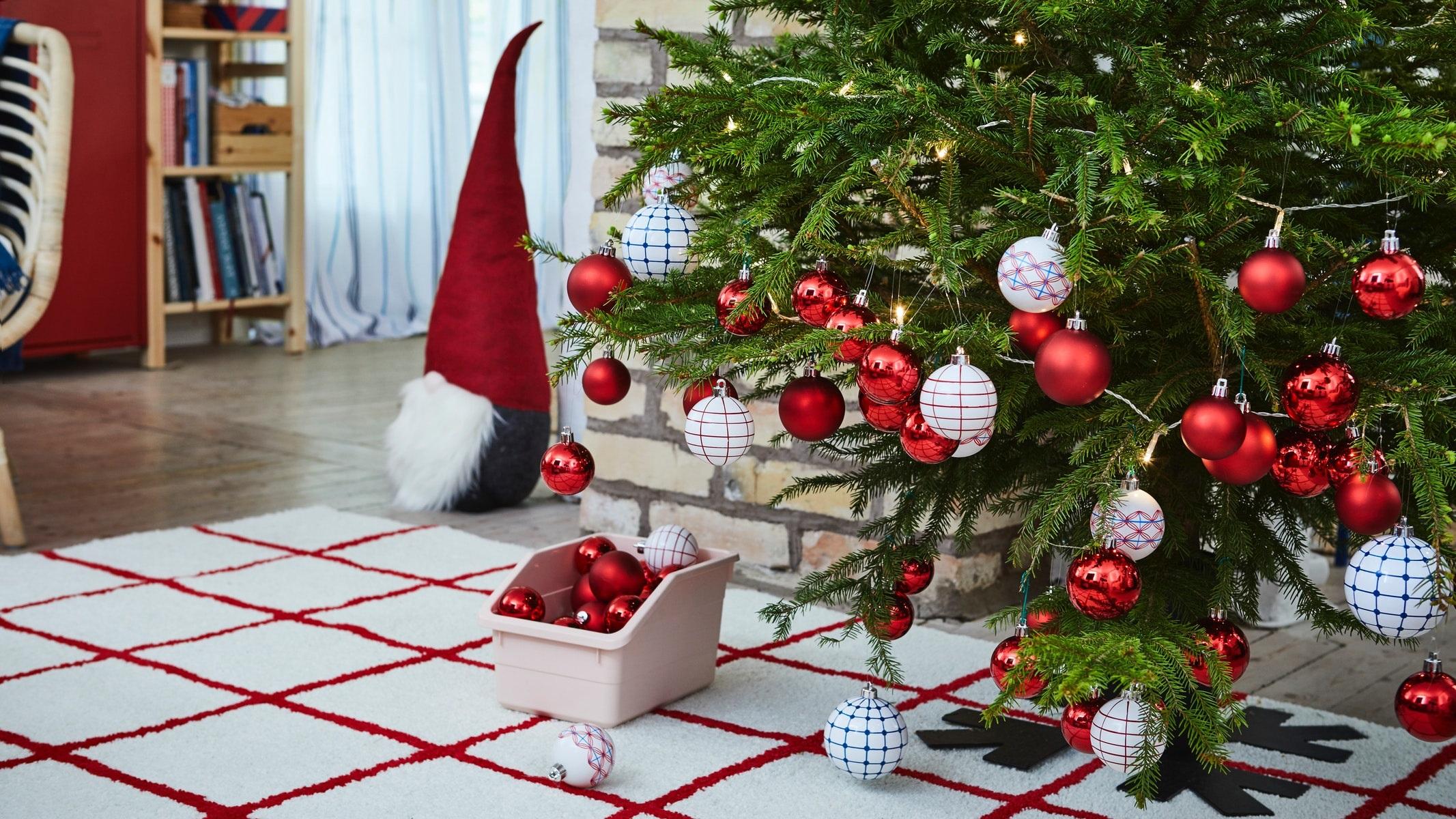 dekorasi interior Natal