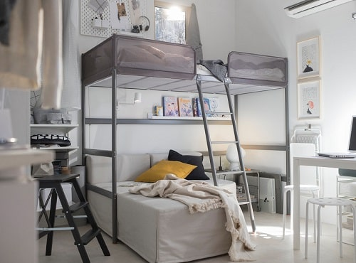 Tempat tidur tingkat, solusi kamar kos sempit