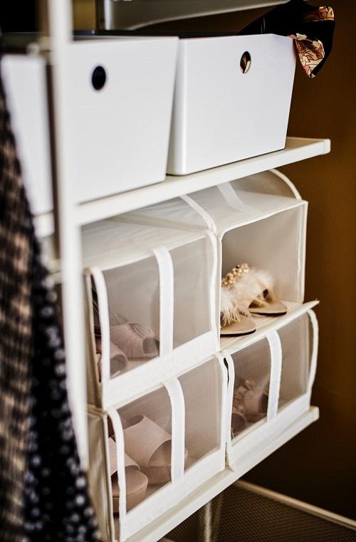 Maksimalkan ruang di lemari pakaian