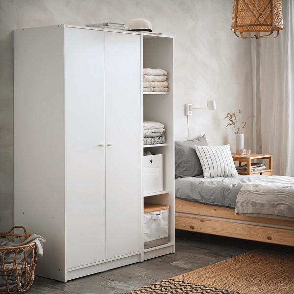Sesuaikan model desain lemari pakaian dengan desain ruang tidur