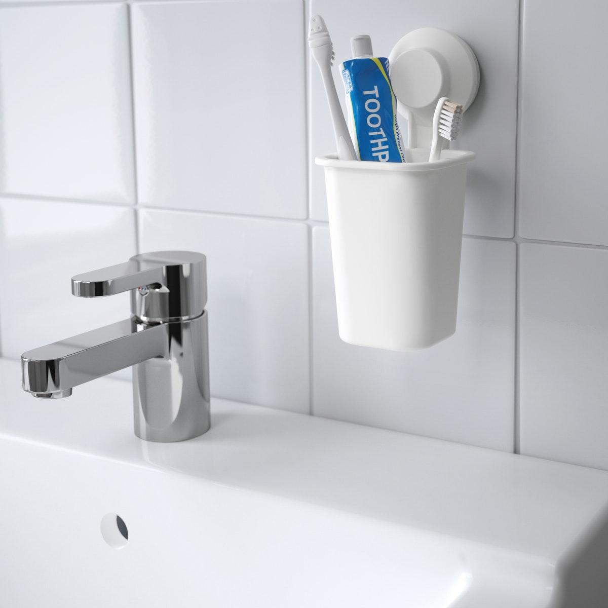 Ciptakan kamar mandi tanpa harus melubangi dinding
