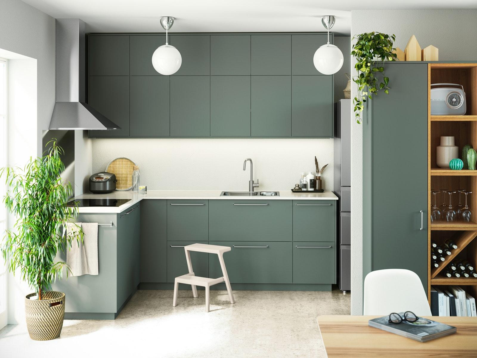 Minimalist Kitchen Set Design For 2020 Ikea Indonesia