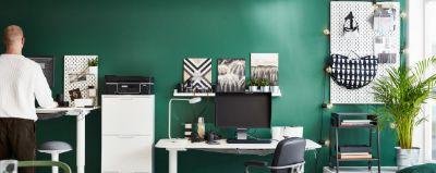meja kantor modern untuk bekerja dan kesehatan