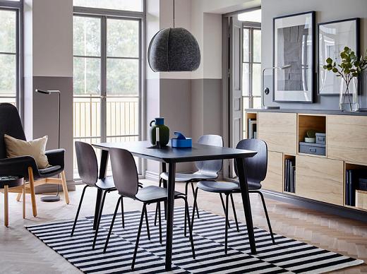 Detail cantik untuk ruang makan Anda