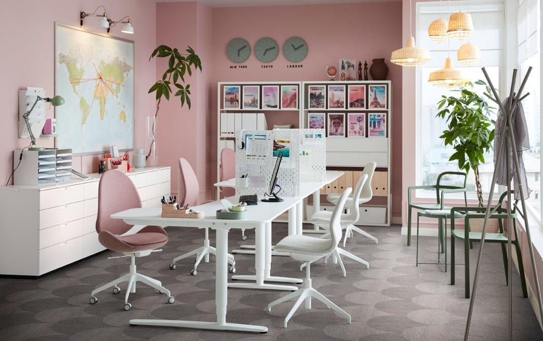 galeri desain meja kursi kantor