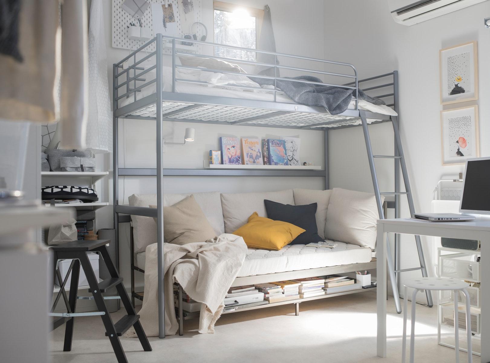 Tentukan jenis tempat tidur tingkat yang diinginkan
