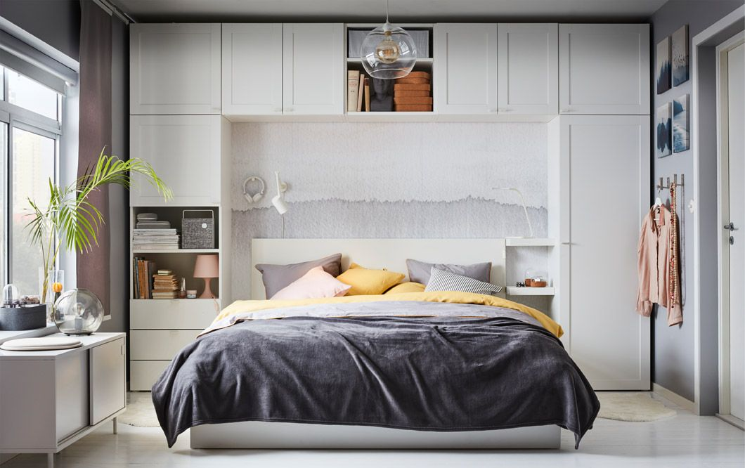 Build up your bedroom storage