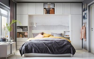 Build up your bedroom storage
