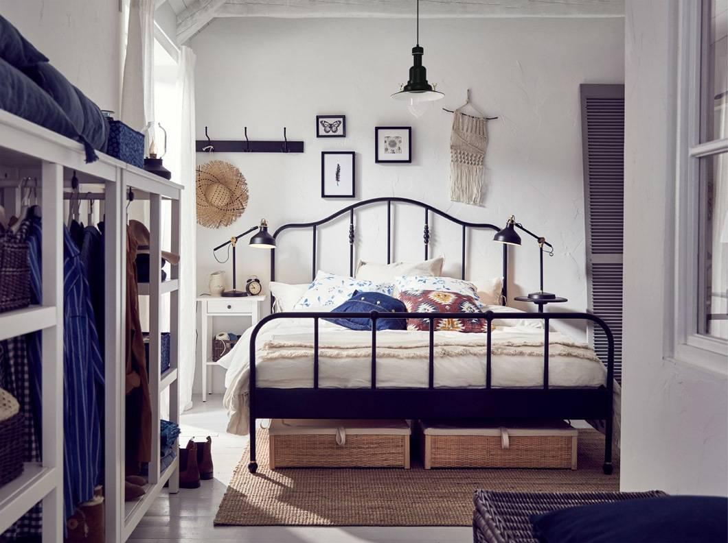 Kamar tidur multitasking dengan sentuhan pribadi