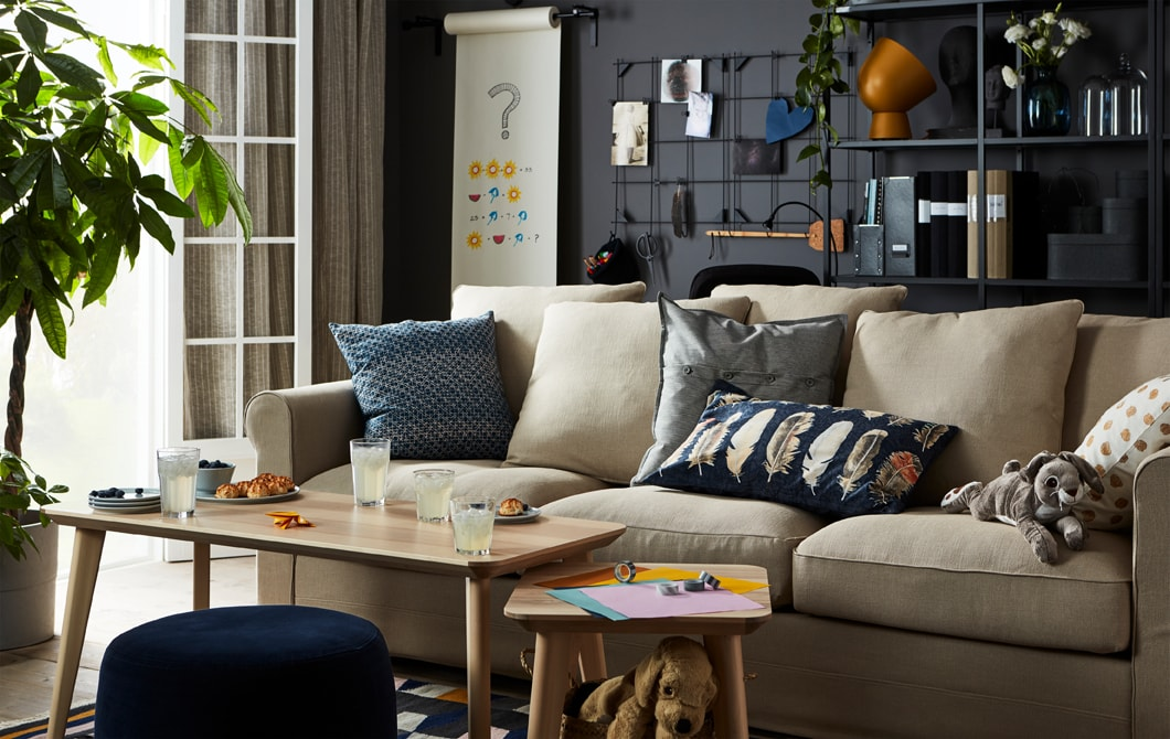 Let your living room be a playground for a day