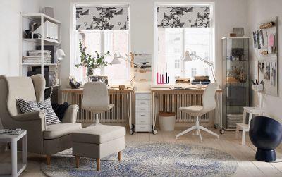 Ruang kerja yang disesuaikan dengan kebutuhan Anda