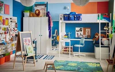 Every little painter's children's room dream