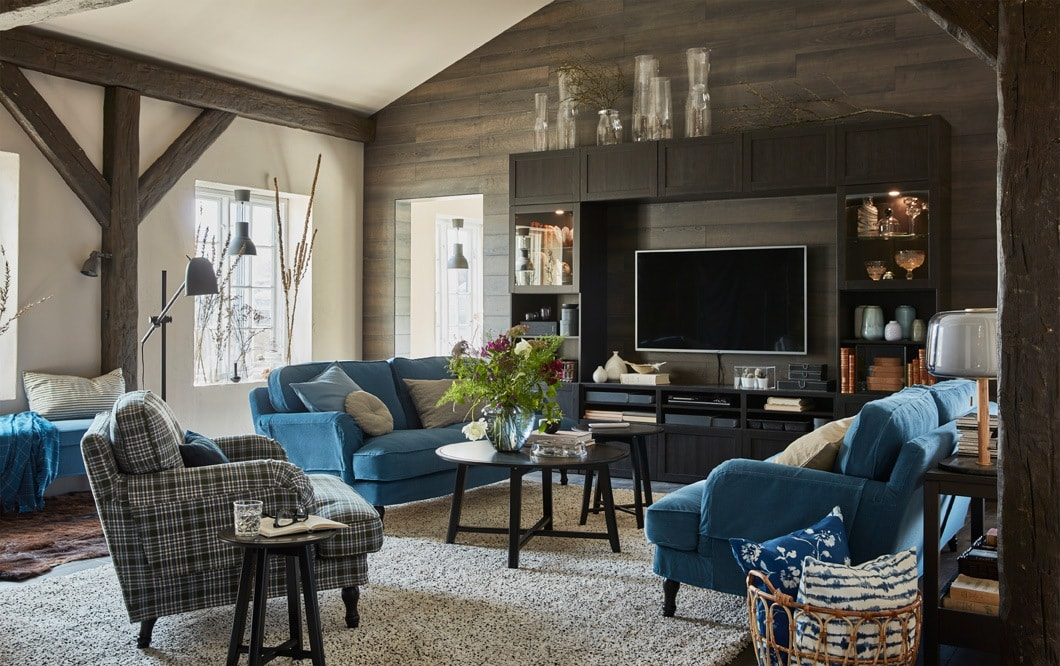 Enjoy a living room with lots of space to entertain