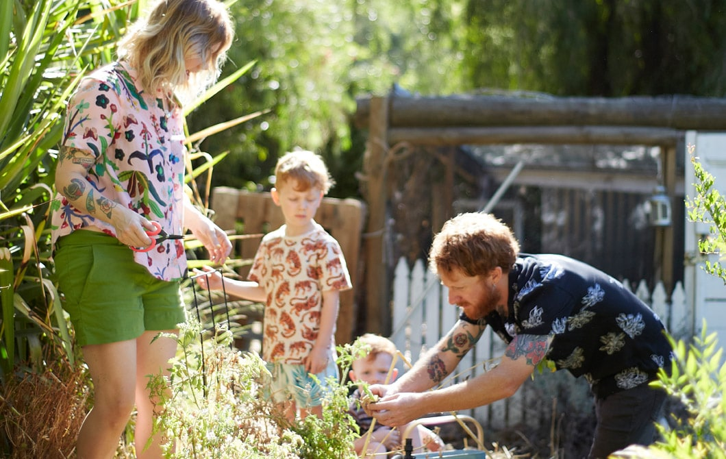 Home visit: grow your own together