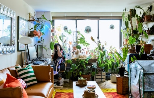 Home visit: ideas to live big in a small space