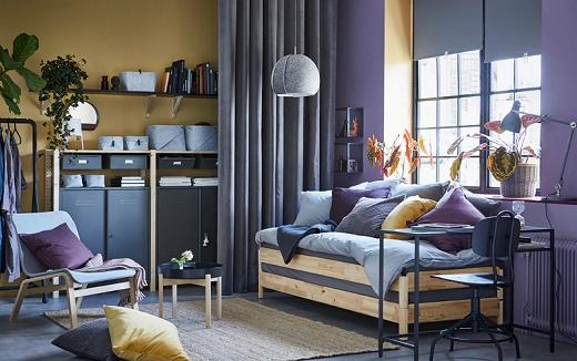 Tempat tidur tiga fungsi